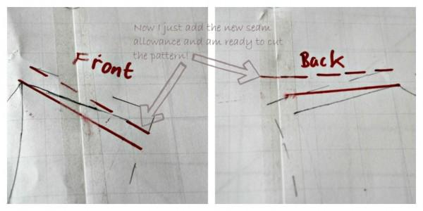 Forward shoulder alteration the final step. Mariadenmark.com