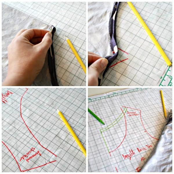 Sketch the neckline