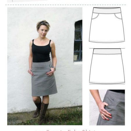 MariaDenmark Yasmin Yoke Skirt