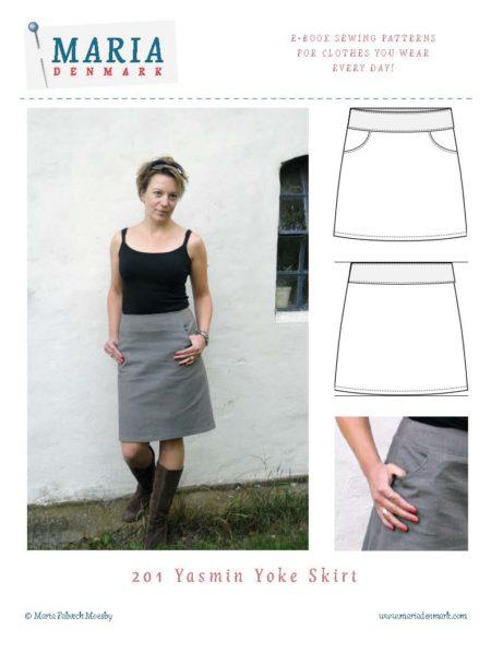 MariaDenmark Yasmin Yoke Skirt