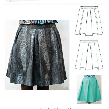 Paula Pleat Skirt Pattern