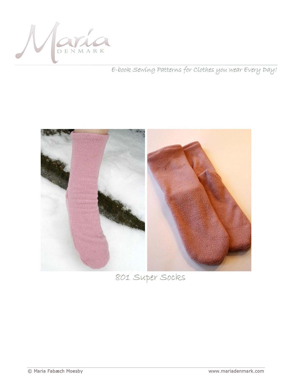 801 - Super Socks - MariaDenmark Sewing