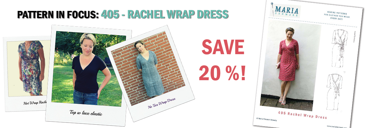 Pattern in Focus: 405 Rachel Wrap Dress