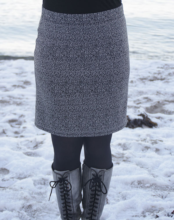 How to draft and sew an EASY made-to-measure skirt in just an hour!
