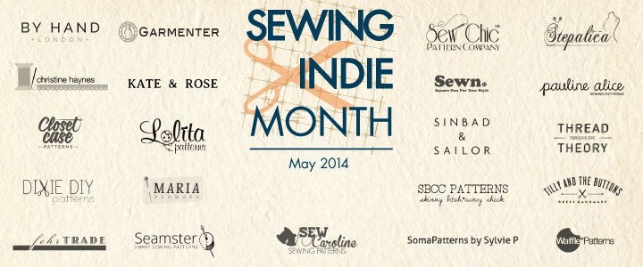 It's May, it's SEWING INDIE MONTH – Win fabulous prizes!
