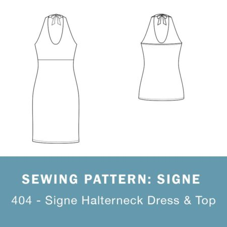 Signe sewing pattern mariadenmark