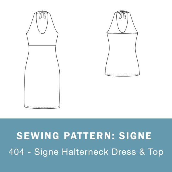 Signe sewing pattern mariadenmark