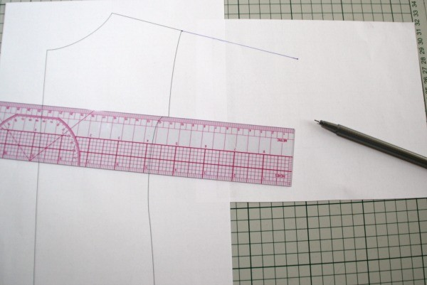 Lengthening the sleeves - just continue the lines. MariaDenmark.com