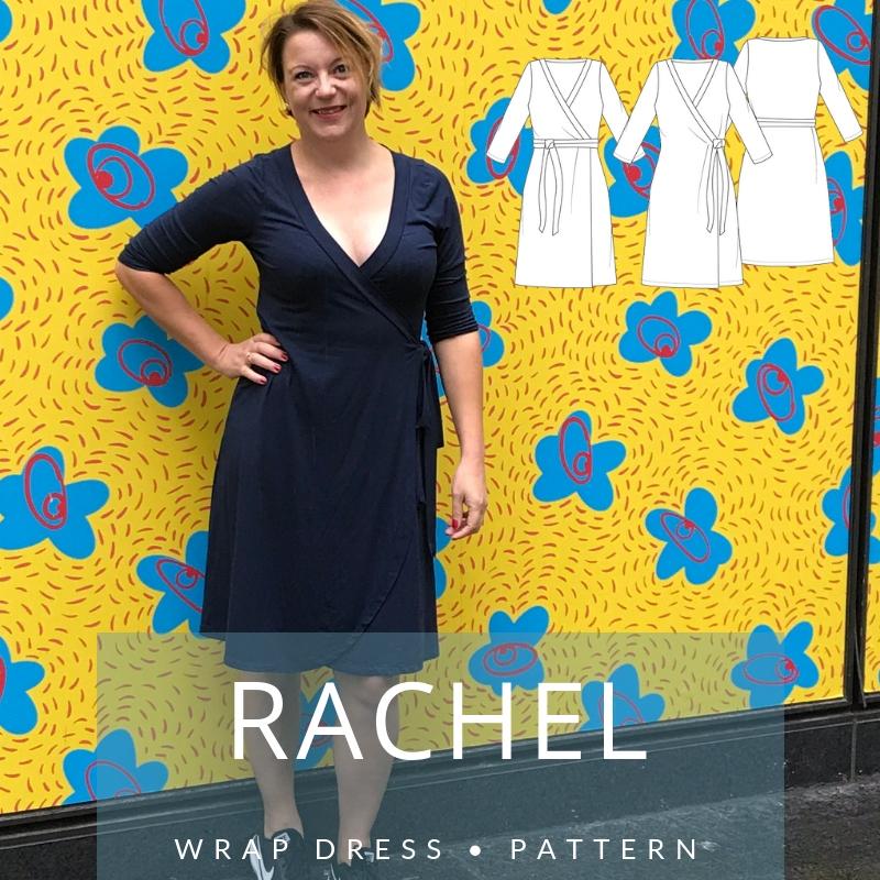 33ac04df4fca87 MariaDenmark 405 - Rachel Wrap Dress Sewing Pattern