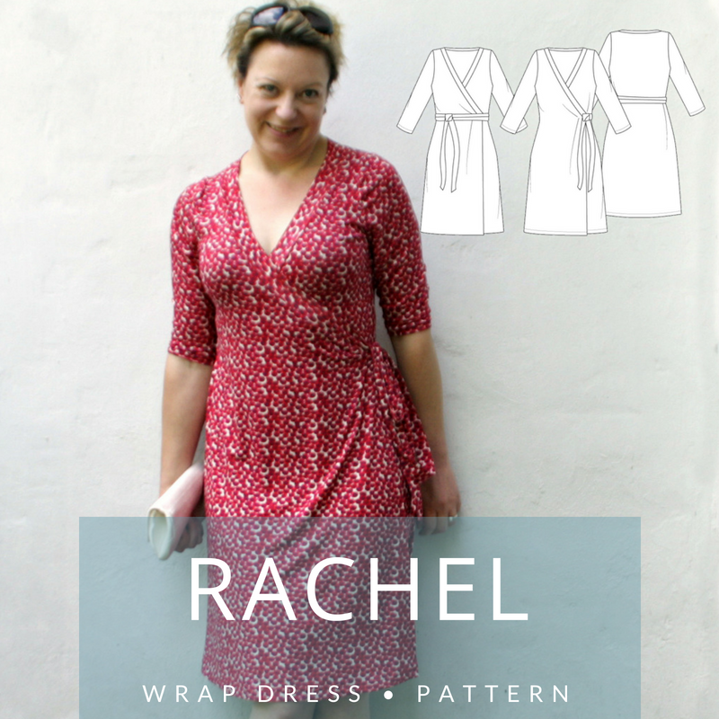 MariaDenmark 405 - Rachel Wrap Dress Sewing Pattern