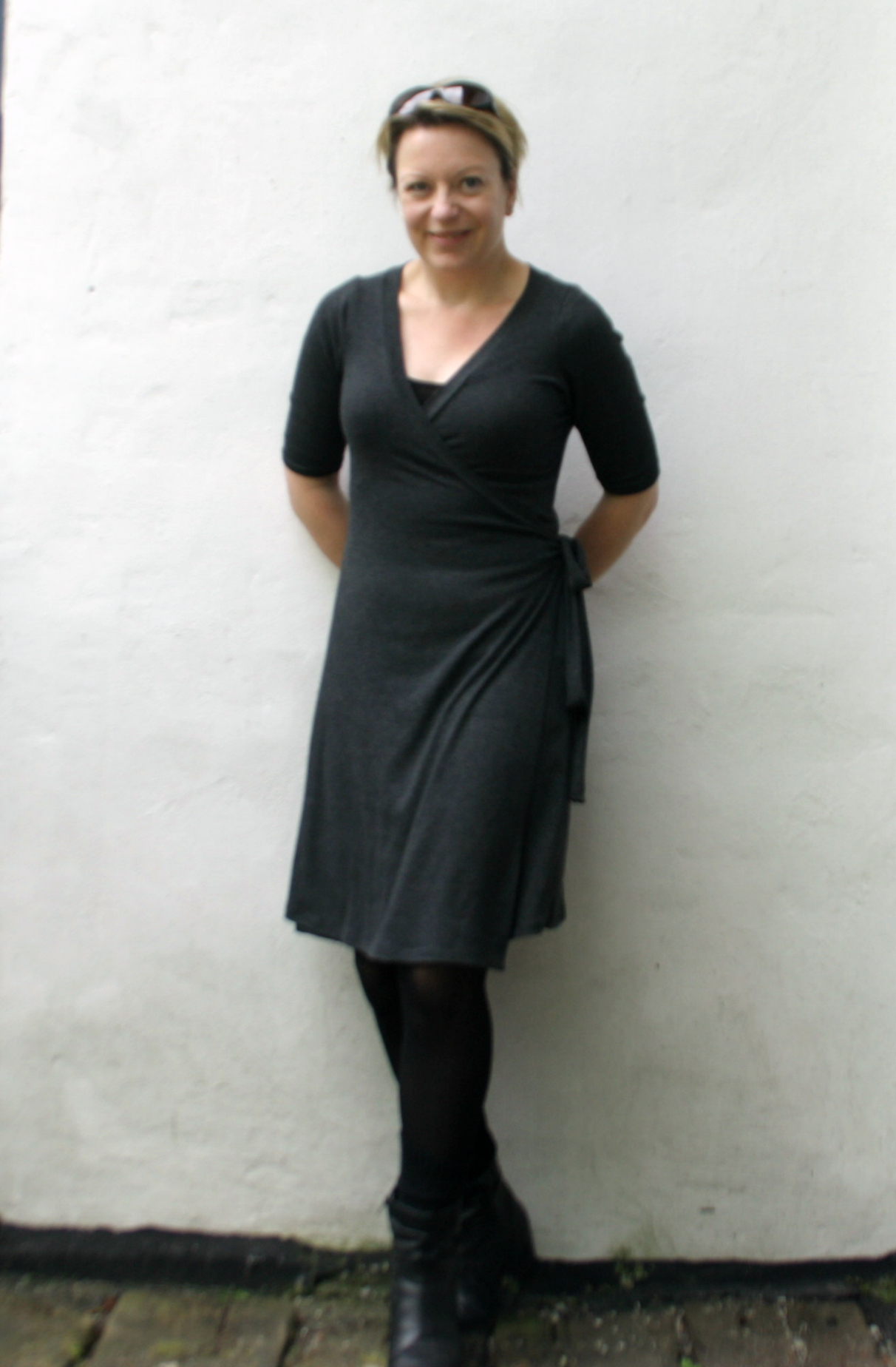 Full bust alteration (FBA) for the Rachel Wrap Dress