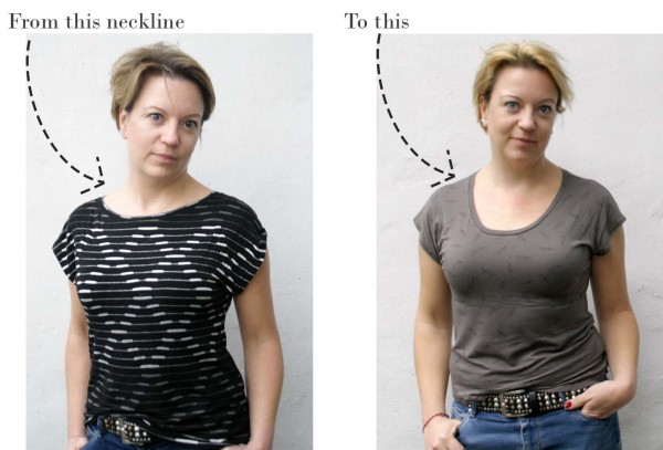 Design your own neckline