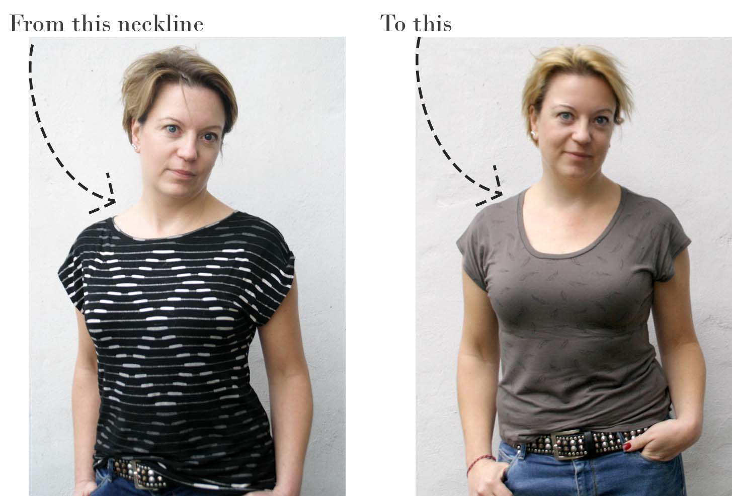 Design your own: How to change the neckline