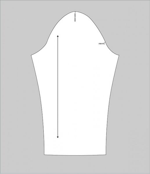 sleeve adjustment pattern