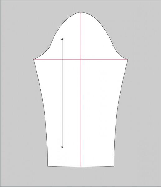 sleeve adjustment draw lines