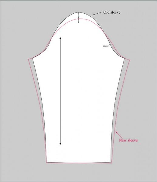 sleeve adjustment done