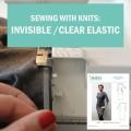invisible clear elastic neckline