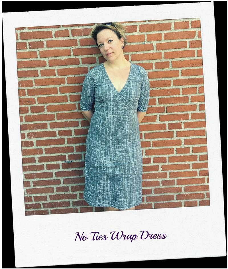 Rachel Pattern Hack: Faux Wrap Dress or top