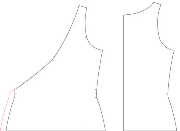 pattern hack rachel dress