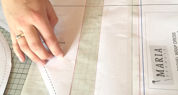 lengthen or shorten sewing pattern