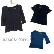 wardrbe sewing basic tops