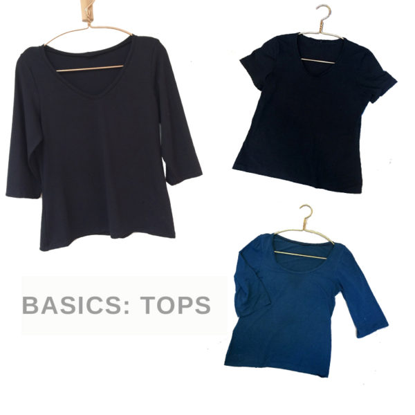 wardrbe sewing basic tops