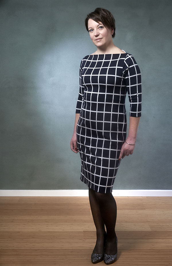 NEW SEWING PATTERN: 407 – Annika Boat Neck Dress
