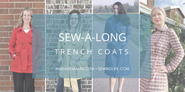 Trench coat sewing sewalong