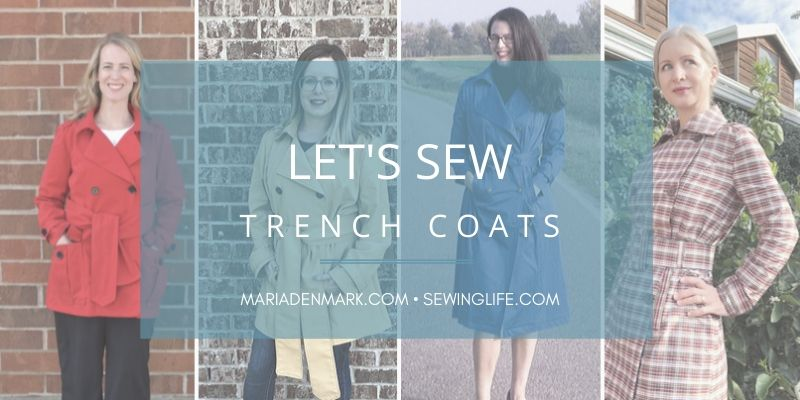 Sewing a Trench Coat: Pattern & Fitting